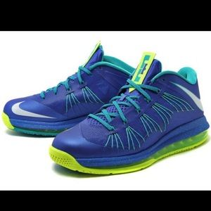"AIR MAX LEBRON X LOW ""SPRITE"""